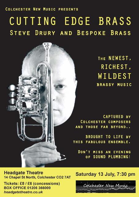Bespoke Brass concert poster