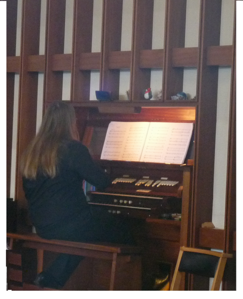 James Bowstead playing at Castle Methodist (CNM Organ Trail 2014).