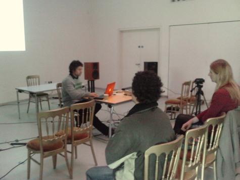 SAF session, Firstsite, 2013