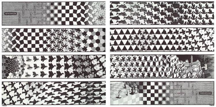 Escher Metamorphosis III