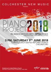 CNM-EPTA Piano Project 2018